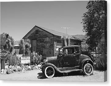 Back In Time Canvas Print by Kimberly Oegerle
