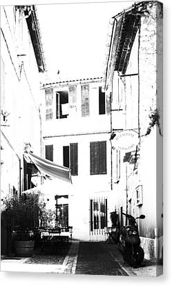 Back Streets Of A French Town - Vertical Canvas Print