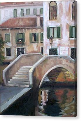 Back Streets Of Venice Canvas Print