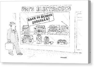 'back To School Specials!' Canvas Print