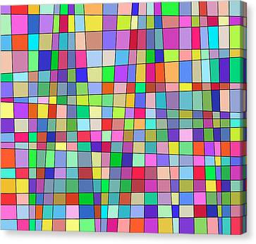 Back To Square One Canvas Print by Jeff Gater