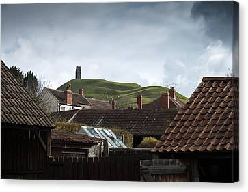 Canvas Print featuring the photograph Back Yard Tor by Stewart Scott