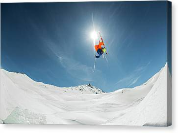 Backcountry Kicker Locals Only Canvas Print