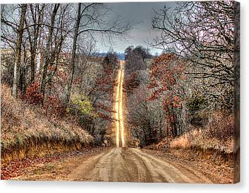 Backroad Canvas Print by Thomas Danilovich