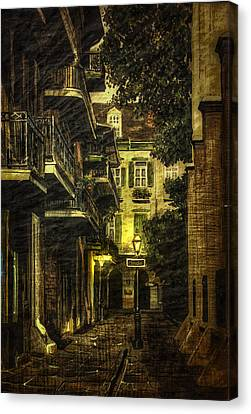 Backstreet Canvas Print by Gary Smith