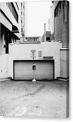 Backstreet Canvas Print by Jerry Cordeiro
