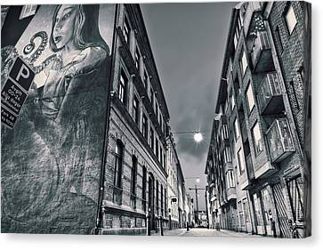 Backstreets Canvas Print by EXparte SE