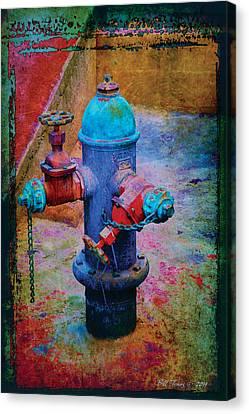 Backstreets Vi Canvas Print by Bill Jonas