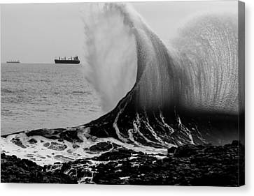 Backwash Canvas Print