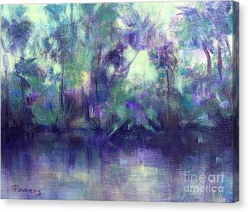 Backwater Canvas Print by Mary Lynne Powers