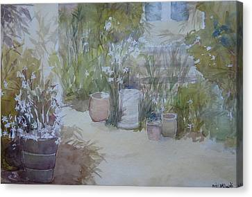 Backyard Beauty Canvas Print