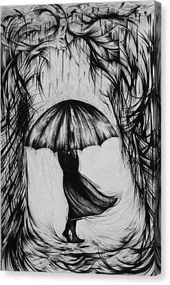 Bad Mood II Canvas Print by Anna  Duyunova