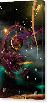 Bad Moons Arisin' Canvas Print by Phil Sadler
