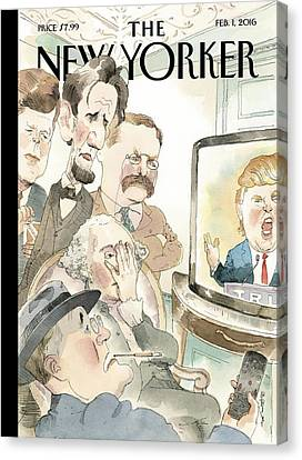 Bad Reception Canvas Print by Barry Blitt