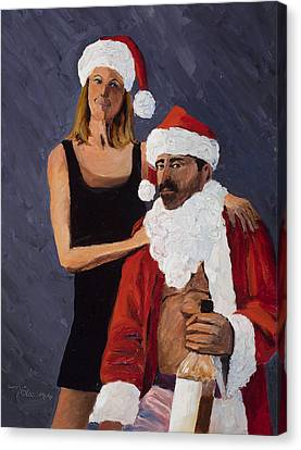 Bad Santa II Canvas Print