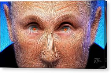 Geopolitics Canvas Print - Bad Vlad The Sad Cad by Joe Paradis