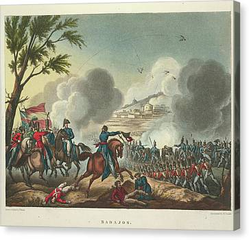 Badajos Canvas Print by British Library