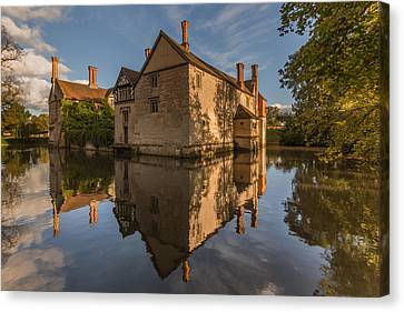 Baddesley Clinton Canvas Print by Chris Fletcher