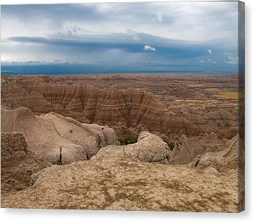 Badlands South Dakota Canvas Print