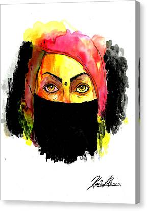 Baduism Canvas Print by Kiana Llanos