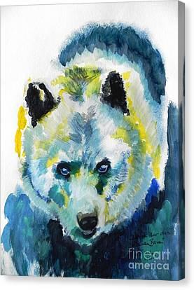 Baer Canvas Print by Jolanta Shiloni