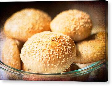 Canvas Print - Bagel Goodness by Sofia Walker