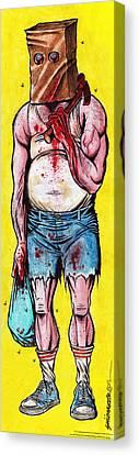 Baghead Canvas Print by David Shumate