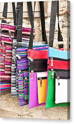 Bags Canvas Print by Tom Gowanlock