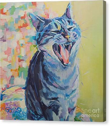 Bah Humbug Canvas Print by Kimberly Santini