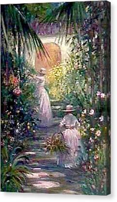 Bahama Garden Canvas Print