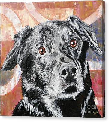 Bailey Canvas Print by PainterArtist FINs husband Maestro
