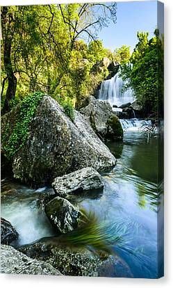 Branch Hill Pond Canvas Print - Bajouca Waterfall II by Marco Oliveira