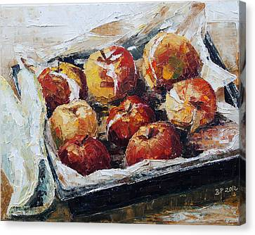 Baked Apples Canvas Print