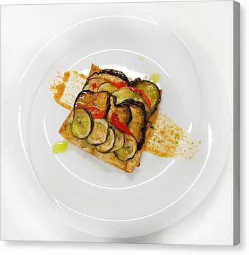 Baked Vegetables Canvas Print