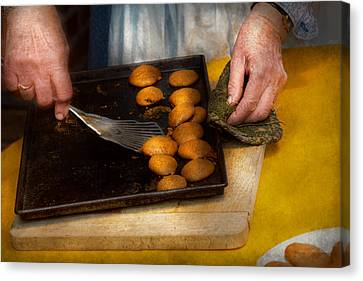 Baker - Food - Have Some Cookies Dear Canvas Print by Mike Savad
