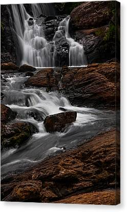 Bakers Fall IIi. Horton Plains National Park. Sri Lanka Canvas Print by Jenny Rainbow