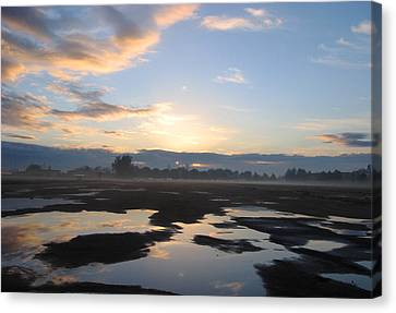 Bakersfield Sunrise Canvas Print