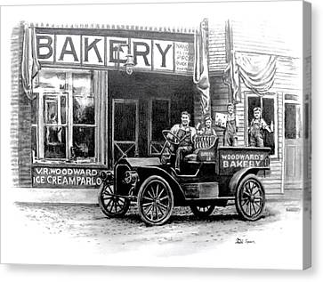 Bakery Canvas Print by Todd Spaur