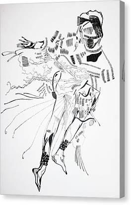 Bakiga Dance - Uganda Canvas Print by Gloria Ssali