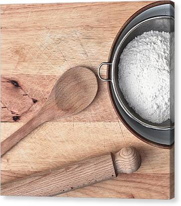 Baking  Canvas Print