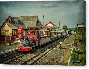 Bala Lake Railway Canvas Print