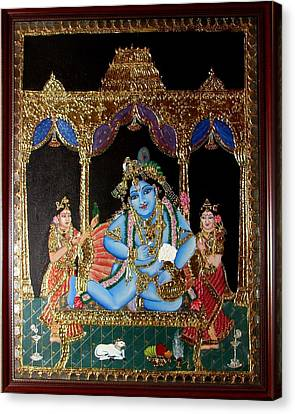 Balakrishna Canvas Print by Jayashree