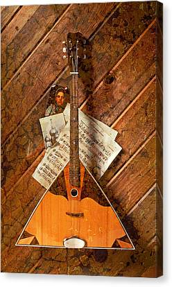 Balalaika Canvas Print by Garry Gay