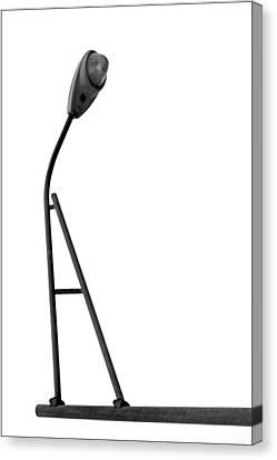 Balance Beam - Street Light - A Canvas Print by Nikolyn McDonald