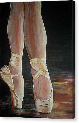 Canvas Print featuring the painting Balance by Cherise Foster