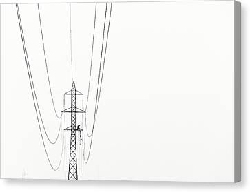 Workers Canvas Print - Balance by Kristjan Rems
