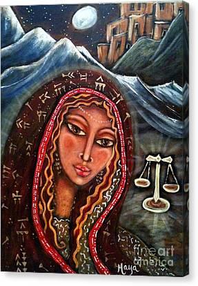 Balance Canvas Print by Maya Telford