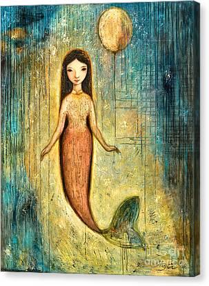 Balance Canvas Print by Shijun Munns