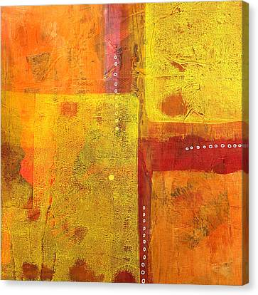 Balancing Canvas Print by Nancy Merkle