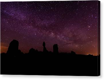 Balancing The Universe Canvas Print by Silvio Ligutti